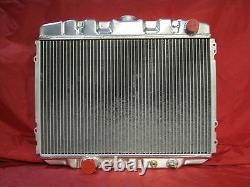 1967 1968 1969 1970 Ford Mustang Mercury Cougar Big Block 24 Radiateur En Aluminium