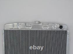 1967 1970 Ford Mustang Mercury Cougar Big Block 24 Radiateur En Aluminium Noir
