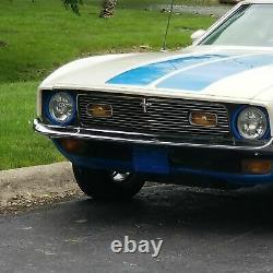 1971 1972 Ford Mustang Mach 1 Pc Aluminium Billet Grille Nouvelle Calandre Personnalisée
