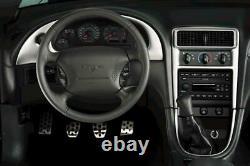1994-2004 Mustang Oem Genuine Ford Aluminium Manual Clutch Brake Gas Dead Pedals