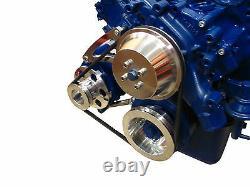 429 460 Bracket D'alternateur Ford À Bas Montage Billet D'aluminium Big Bloc Bbf 385