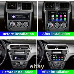 7'' 1 Din Android 10 2+16 Voiture Radio Stereo Bt Gps Lecteur Mp5 Wifi Mirror Link