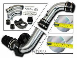 Bcp Black 94-98 Ford Mustang 3.8l V6 Cold Air Intake Racing System + Filtre