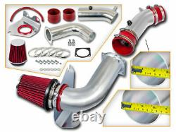 Bcp Red 99-04 Mustang 3.8l V6 Kit D'injection D'air Froid + Filtre