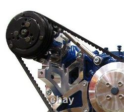 Big Block Ford Air Conditionné Bracket 429 460 Billet Aluminium Compresseur Ac