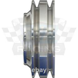 Big Block Ford Poulie Kit 429 460 Billet Aluminium Bbf V-belt Poulies 3v A/c Ac