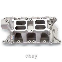 Edelbrock 7585 351w Ford Dual Quad Prise Manifold