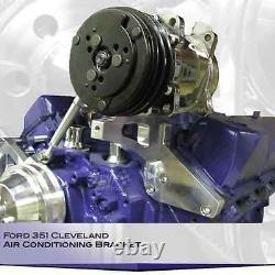 Ford 351c Support De Climatisation Billet Aluminium Cleveland Ac Compresseur A/c