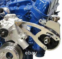 Ford 5.0l Serpentine Pouley Kit Power Steering Sbf Small Block Saginaw Sbf 302