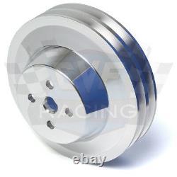 Ford Fe Engine Pulleys Underdrive Kit 390 427 428 Vbelt Billet Aluminium V-belt