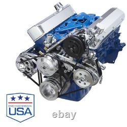 Ford Small Block Air Conditioning Support Sanden Compresseur, Ac A/c 302 289 351w
