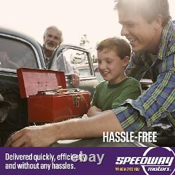 Holley 64280 Polished Aluminum Hi-tek Low Profile Air Cleaner Filter Assembly