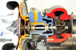 Hybride T3/t4 T3t4 T04e. 63 A/r Turbine 5 Bolt Flange Turbocharger Turbo Charger