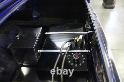 Kit Complet De Relocalisation De Boîte De Batterie En Aluminium Universel Avec Des Câbles Et Du Matériel