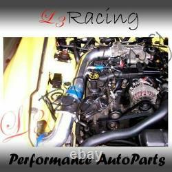 Kit D'admission D'air Froid Noir+ Filtre Sec Pour Ford 96-04 Mustang Gt 4.6l V8
