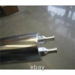 Machined Radiator Overflow Tank Aluminium Grand Petit Bloc Chévy Moteur Bbc Sbc