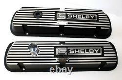 Nouveau! Shelby Gt350 Valve Mustang Couvre Cobra Ford Aluminium Paire 289 302