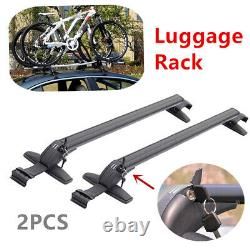 Paire Porte-bagages Porte-bagages Porte-bagages Porte-bagages Barre De Croix Pour La Plupart Des Modèles De Voiture