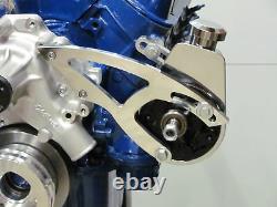 Petit Bloc Ford 289 302 351w Saginaw Power Steering Bracket Billet Sbf V-belt