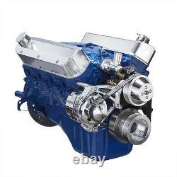 Petit Bloc Ford 289 302 Serpentine Pulley Conversion Kit Billet Alternateur Sbf