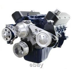 Petit Bloc Ford 351w Serpentine Kit De Conversion 351 Windsor System Ps Sbfl Alt