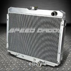 Pour 67-70 Ford Mustang/mercury Cougar V8 3-row Aluminium Core Racing Radiator