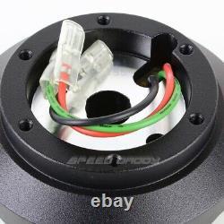 Pour 94-04 Ford Mustang Sn-95 1/2 Nrg Steering Wheel 6 Trous Short Hub Adaptor Kit