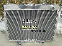 Radiateur Aluminium 1967-1970 Ford Mustang / Mercury Cougar/xr7/torino 1968-1969