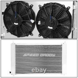 Radiateur De Performance 3 Rangées Remplacement+linceul De Ventilateur Cool Pour 97-04 Ford Mustang Mt
