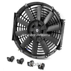 Radiateur En Aluminium 3 Rangées+14 Ventilateur 69-70 Ford Mustang/-77 Maverick 4.1l/5.0l L6/v8