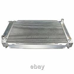 Radiateur En Aluminium Cxracing 3 Lignes Pour Ford Mustang Gt 79-93 5.0 V8