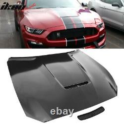 S'adapte 15-17 Ford Mustang 2dr Gt350 Style Aluminium Capot Avant Non Peint