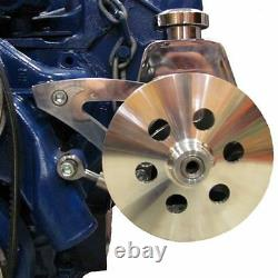 Support De Direction Moteur Ford Fe 390 427 428 V-belt Billet En Aluminium