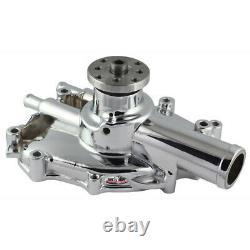 Tuff Stuff Water Pump 1625ng Chrome Aluminium À Volume Élevé Pour Ford 302/351w Sbf